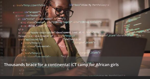 Kicking off #UN75 #DecadeofAction with 10-day continental #ICT bootcamp for African girls |     @ECA_OFFICIAL Partners with @ITU and @UN_Women