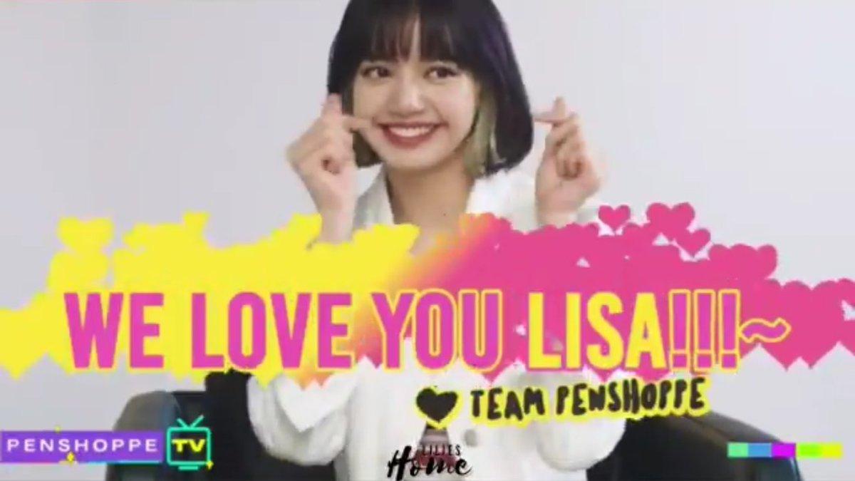 WE LOVE YOU LISA   #LisaOnPenshoppeTVTODAY #FinallyLisaOnPenshoppeTV