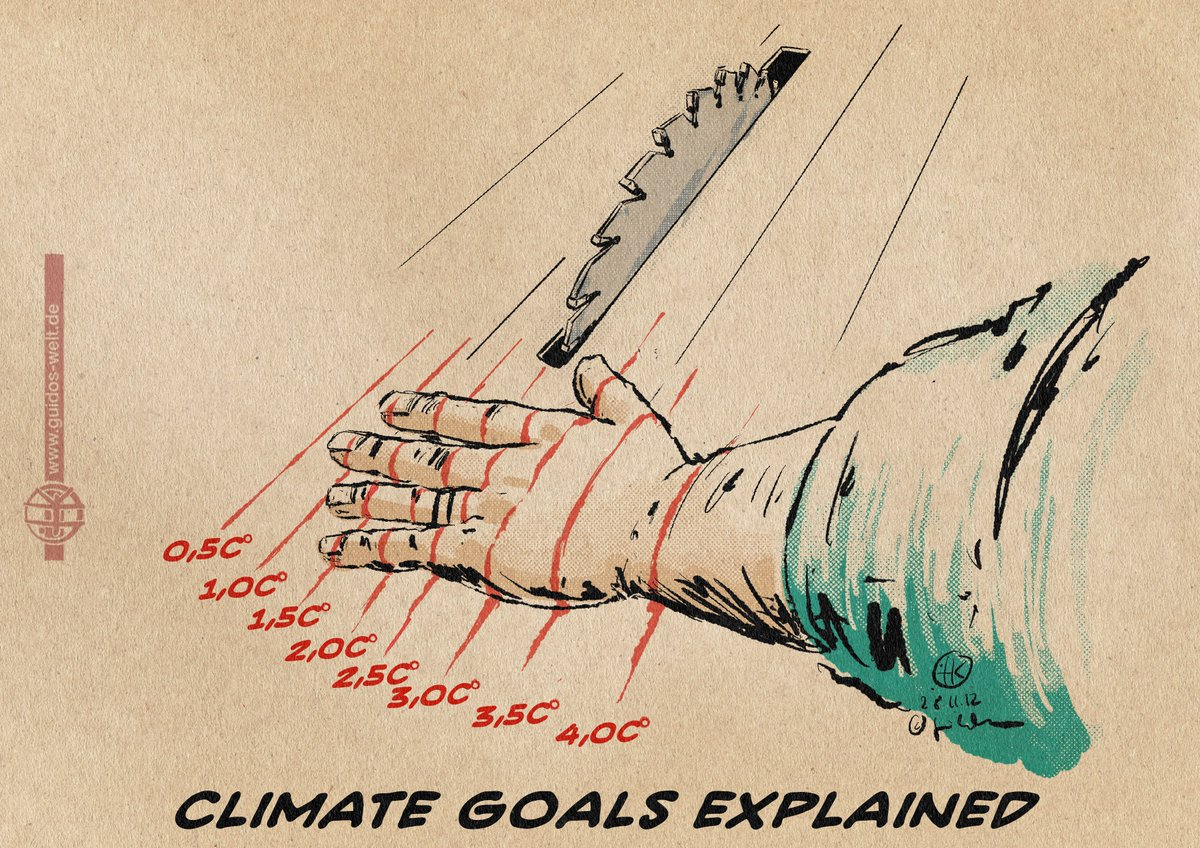 "Climate Goals Explained  The so called climate goals aren't goals but last, hostile frontiers without return. Blaming them as ""goals"" is a most dangerous, a false security breathing euphemism in order to extend earths exploitation to its maximum."