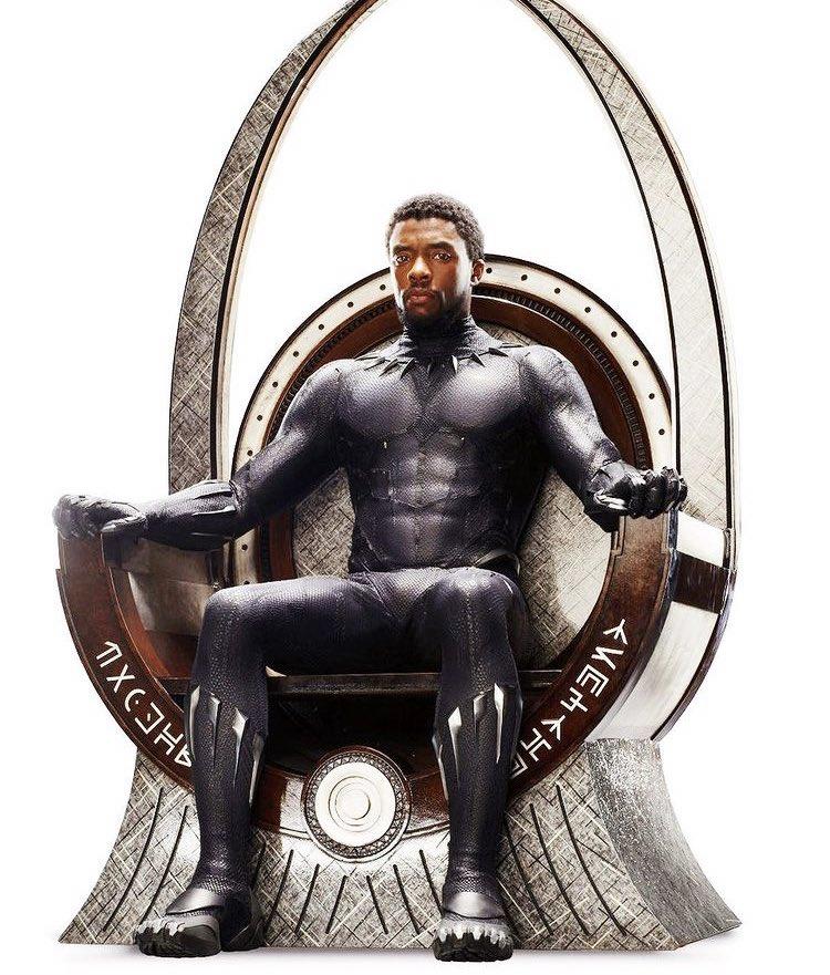Happy Birthday king!   #WakandaForever  #ChadwickBoseman
