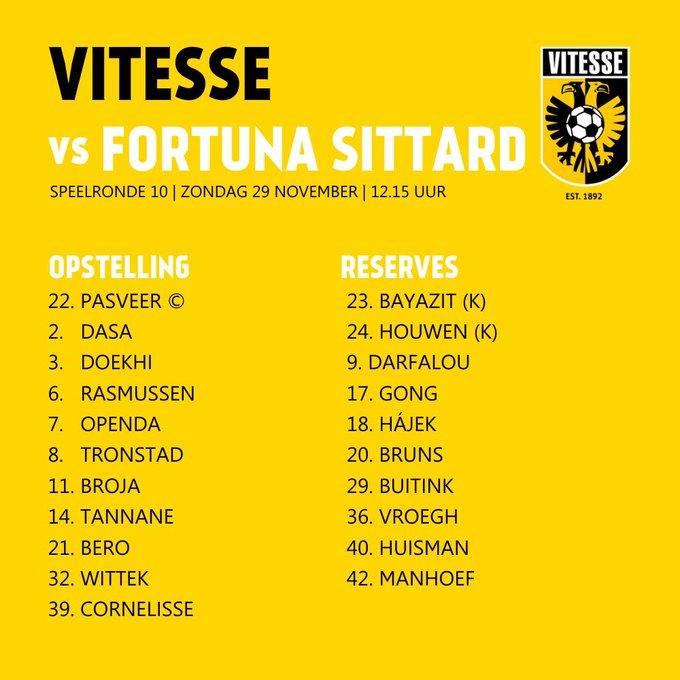🇳🇱 #Eredivisie Fecha 🔟  ⚽️ Ya juegan Vitesse vs. Fortuna Sittard en Gelredome  🔜 Más tarde, hora 🇦🇷  ⏰ 10.30 Feyenoord vs. Utrecht  ⏰ 10.30 Groningen vs. Willem  ⏰ 12.45 Heracles vs. AZ Alkmaar  ⏰ 16.00 PSV vs. Sparta Rotterdam https://t.co/Yb1gh5hZ3t