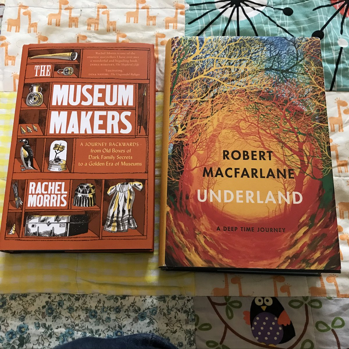 Wow, this is high praise for my book #TheMuseumMakers from @SamanthaEllis27 and I am flattered to be bracketed with @RobGMacfarlane  @septemberbooks