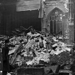 Image for the Tweet beginning: The Manchester Cathedral bombing in