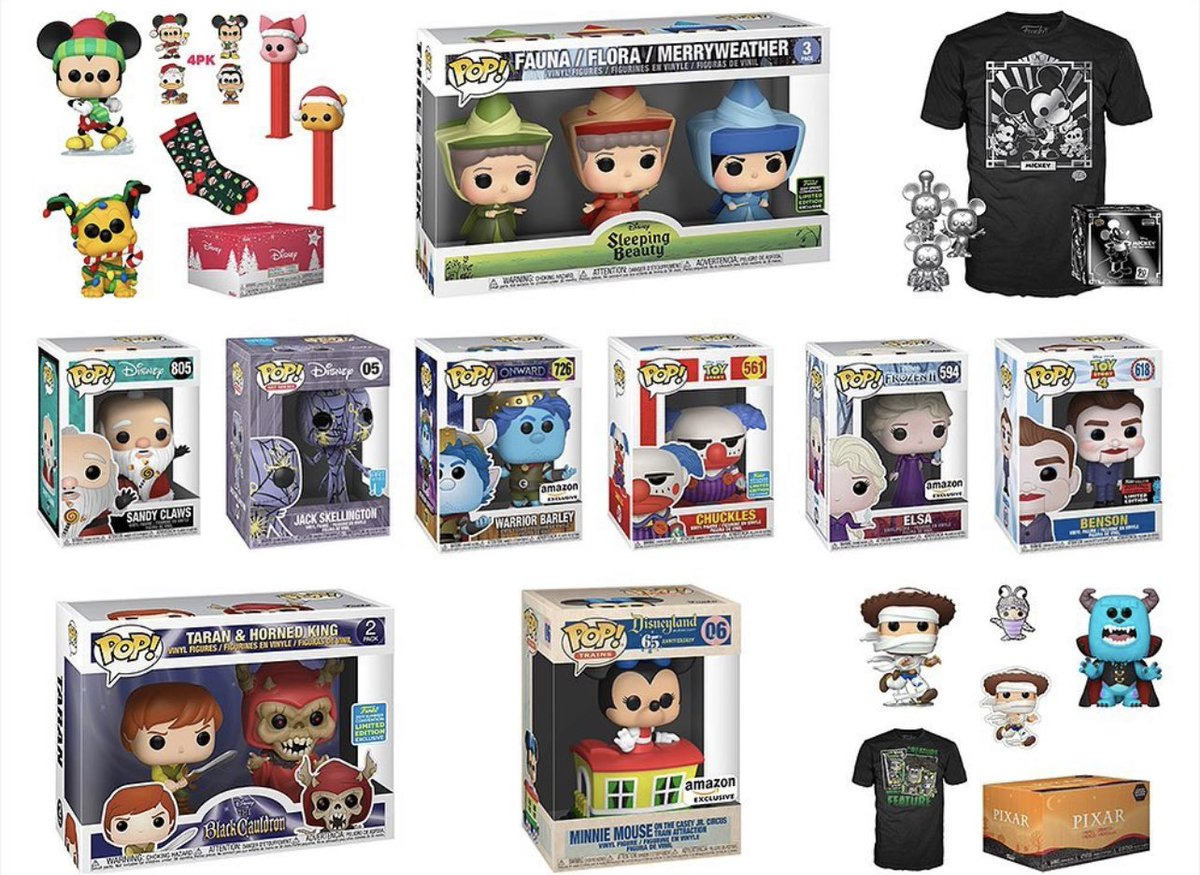 Cyber Monday Deal -  Disney Pop Sale at Amazon! Save up to 48% on many Pops. #Funko #Ad .