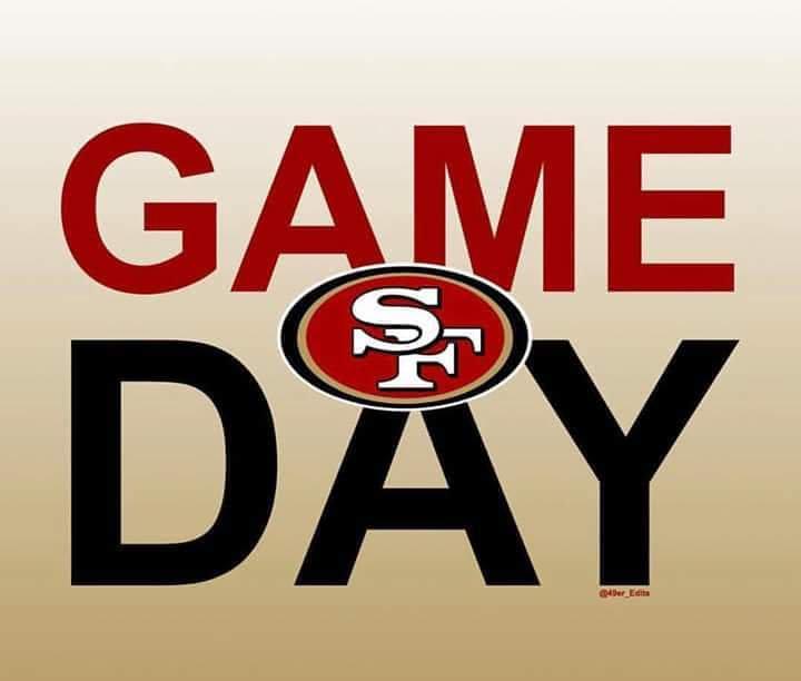 Dia de juego! Game day! Nos vemos en Rock it Parque Rojo. @49ers_es @Los49ers_ @jesuszarate87 @JohnLynch49ers @49ers @Tomapapa @Club49ersMexico @NFLEspanol @49ersPanama @NFL #BeatLA #NinerEmpireJalisco #NinerEmpire #GoNiners #FaithFulThenFaithFulNow #49ers https://t.co/ZotGXpNxQp