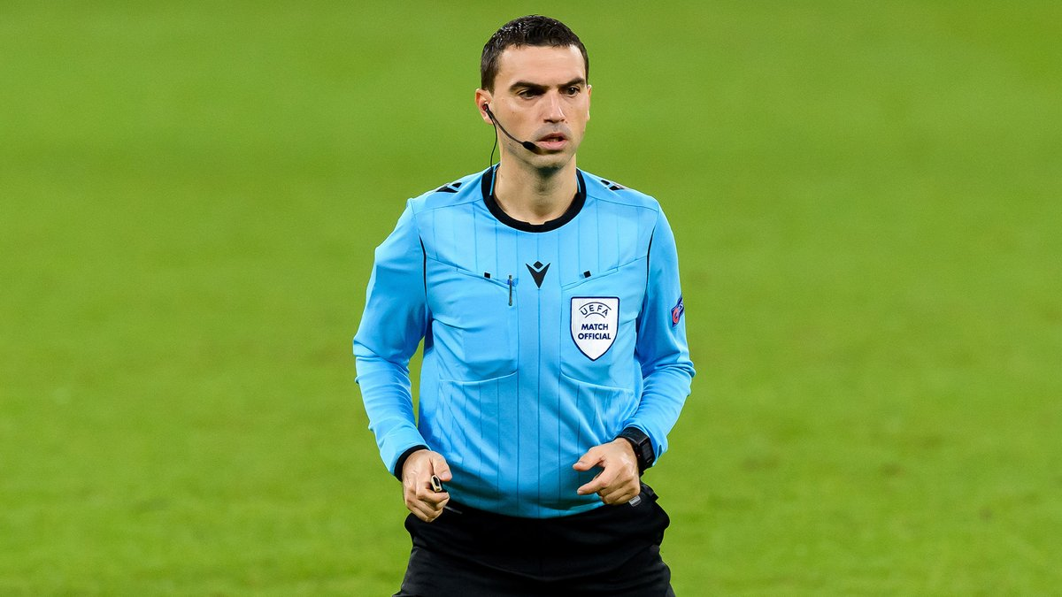 📣 Ovidiu Haţegan will be the referee in charge of Tuesday's @ChampionsLeague match 🆚 @FCShakhtar. #RMUCL | #HalaMadrid