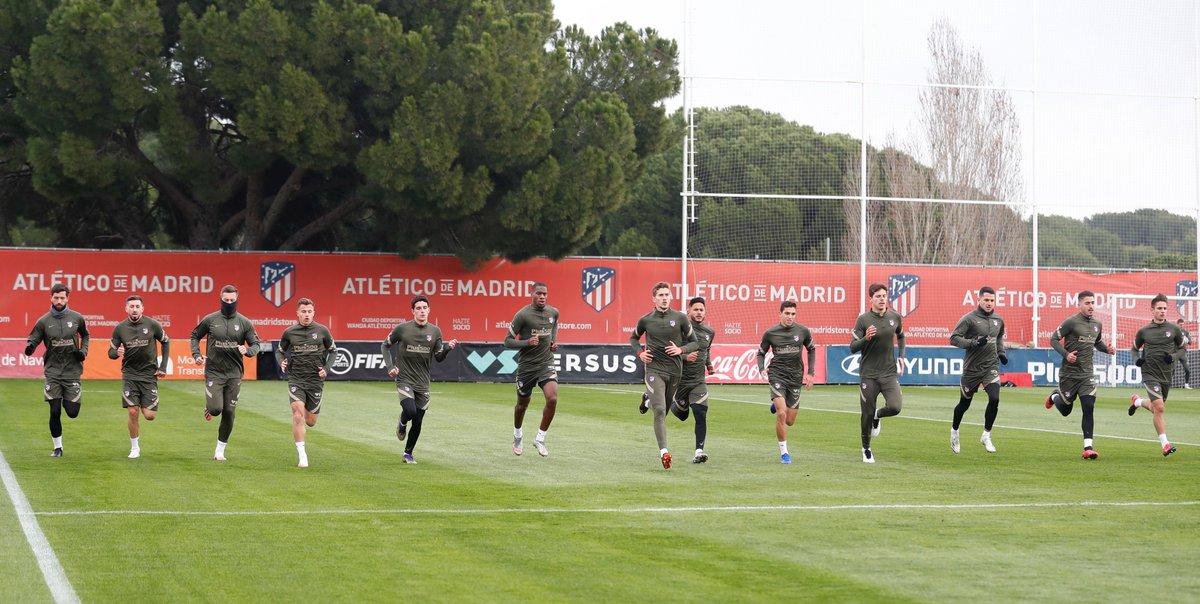 🇪🇺 Modo@ChampionsLeague🔛  ¡Empezamos a preparar el #AtletiFCB!👊  ➕📸➡   🔴⚪ #AúpaAtleti | ⭐ #UCL