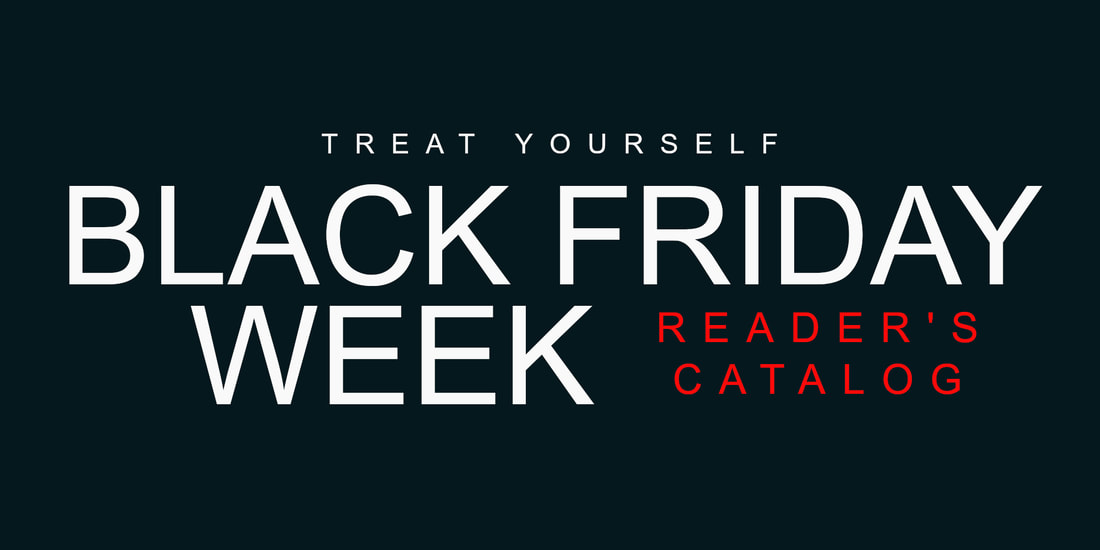Black Friday Week Reader's Catalog of Discounted Books! #BlackFriday #Books #Sale https://t.co/OUTDleK8a5 via @AuthorHKCarlton https://t.co/CP20UJRrKN