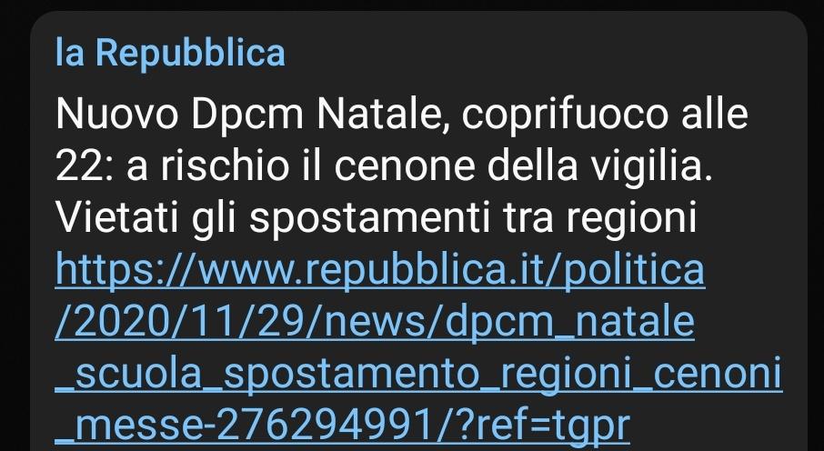 #DPCMnatale