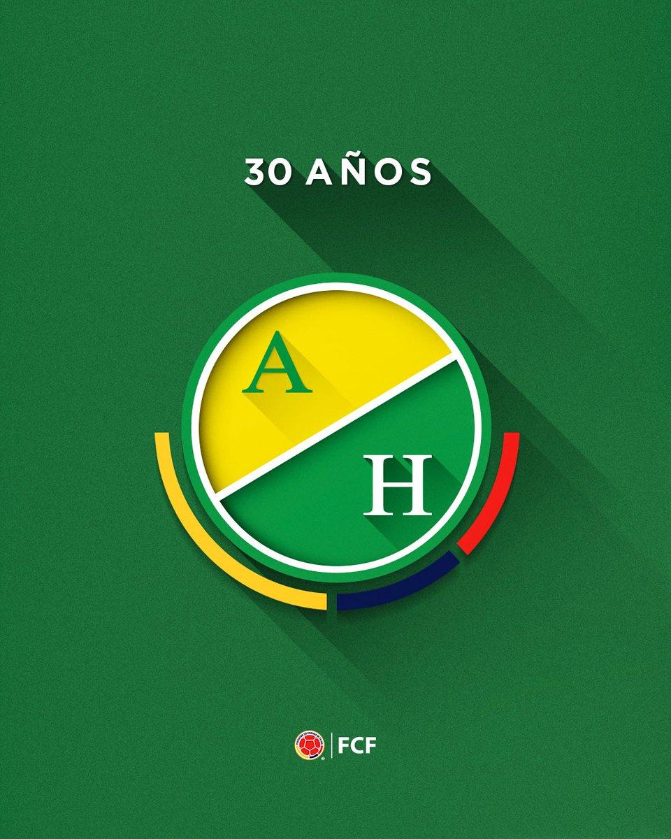 ¡Feliz cumpleaños @AtleticoHuilaof ! 👍  Felicitamos al cuadro Opita en su aniversario #️⃣3️⃣0️⃣  Un abrazo de gol ⚽️