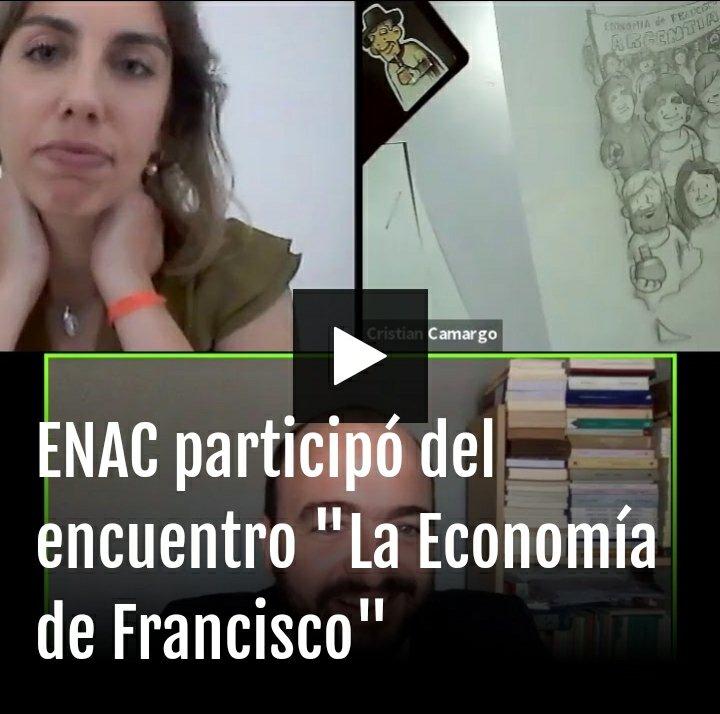 """ENAC participó del encuentro """"La Economía de Francisco"""" 👇 #FrancescoEconomy"""