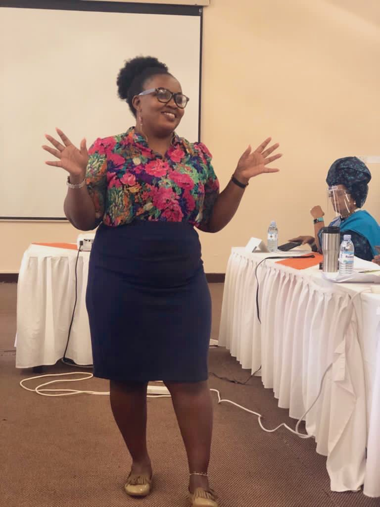 I was privileged to be among the selected women &youth under Women's Situation Room Training of Trainers workshop aimed at developing capacity to deliver WSR trainings towards achieving peaceful elections in Uganda #UgWomen4Peace @WSRUganda2 @uwonet @TheWIPCentre @angiebrooksic https://t.co/CW8b8hLIHj