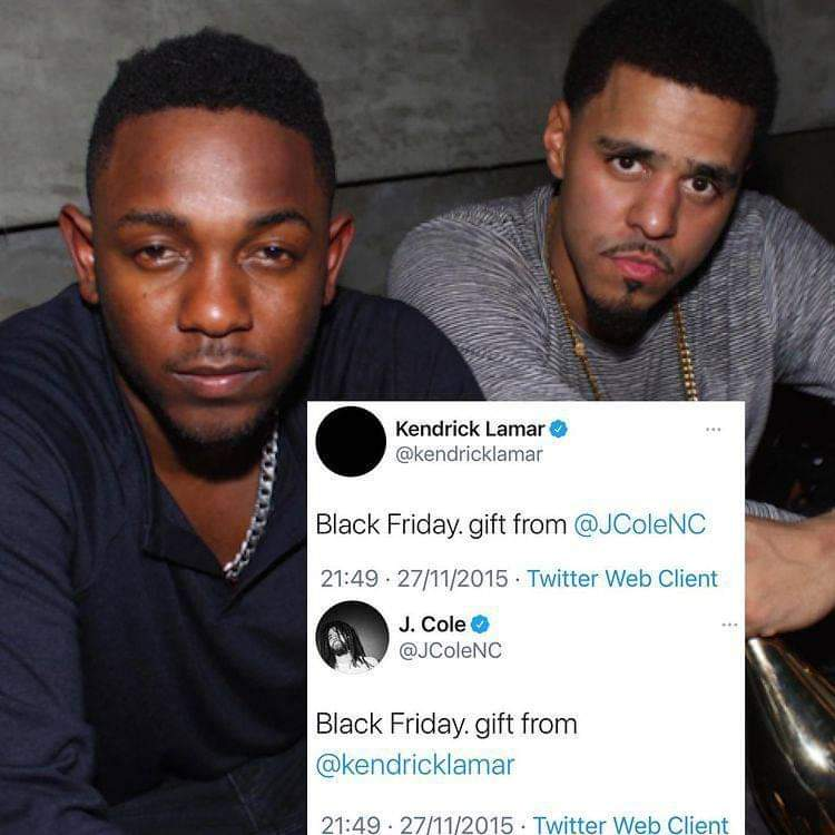 @kendricklamar  @JColeNC  give us another! #Rap #Hiphop #Kendricklamar #Jcole https://t.co/8ChzxoZxxG