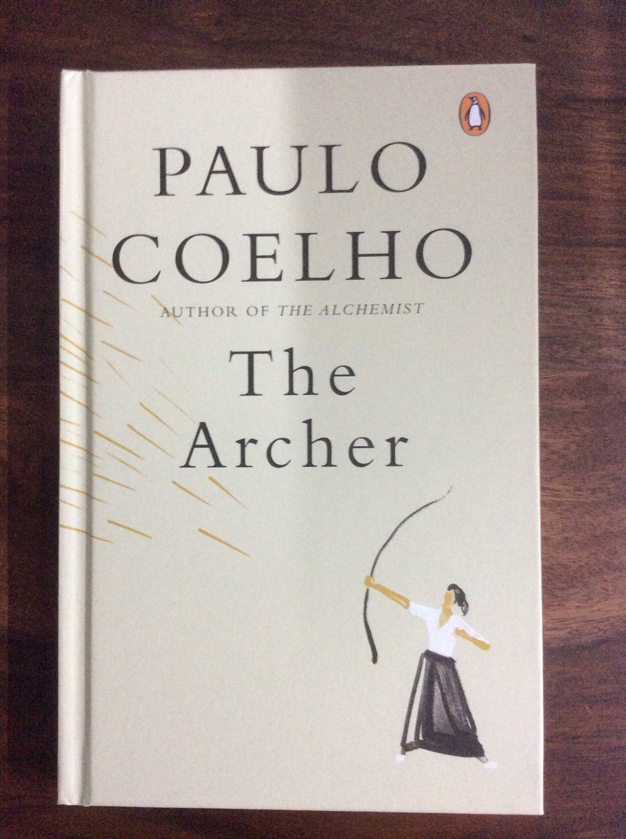 Book no.55 The Archer by @paulocoelho ... Direct medicine and just like the archer... the target was shot.... with respect and elegance and very importantly that was down with a lot of peace.... Someday will sit and take notes of this...