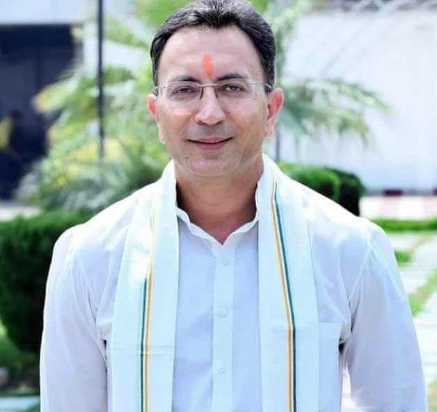 "Jitin Prasada जितिन प्रसाद on Twitter: ""धन्यवाद त्रिपाठी जी… """
