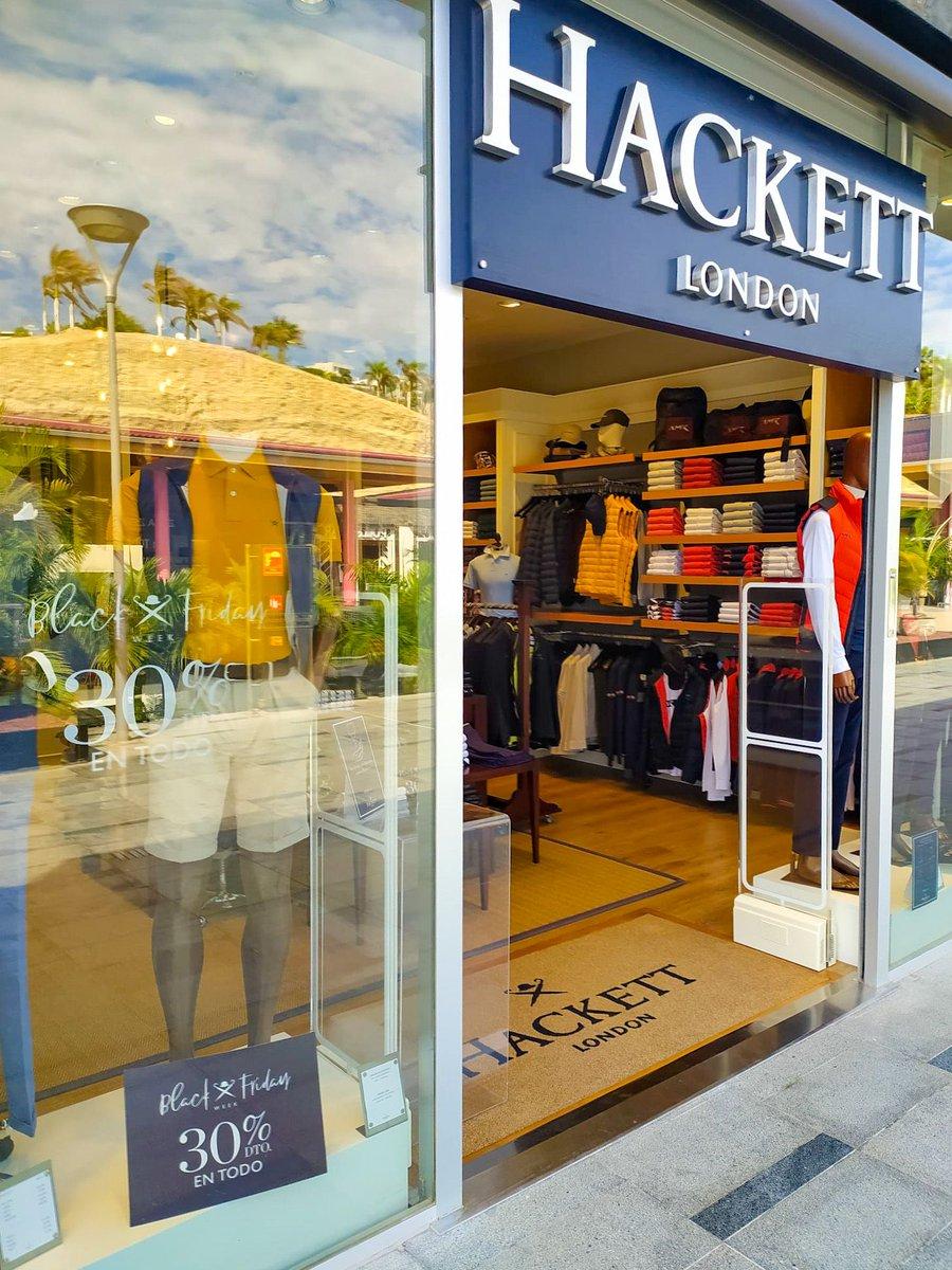👉Hackett tiene un 30% de descuento ¡Visita su tienda en nuestra planta alta! #BlackWeekSiamMall Más info: https://t.co/yXZviZUMKt https://t.co/NZE7ThPHFr