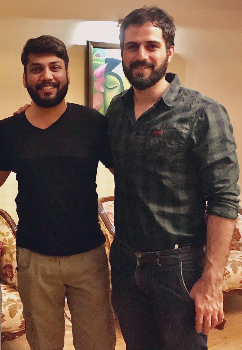 Happy birthday you happy soul @DelafroozSajjad! Have a great one bro, big hug 🤗   #HappyBirthdaySajjadDelafrooz