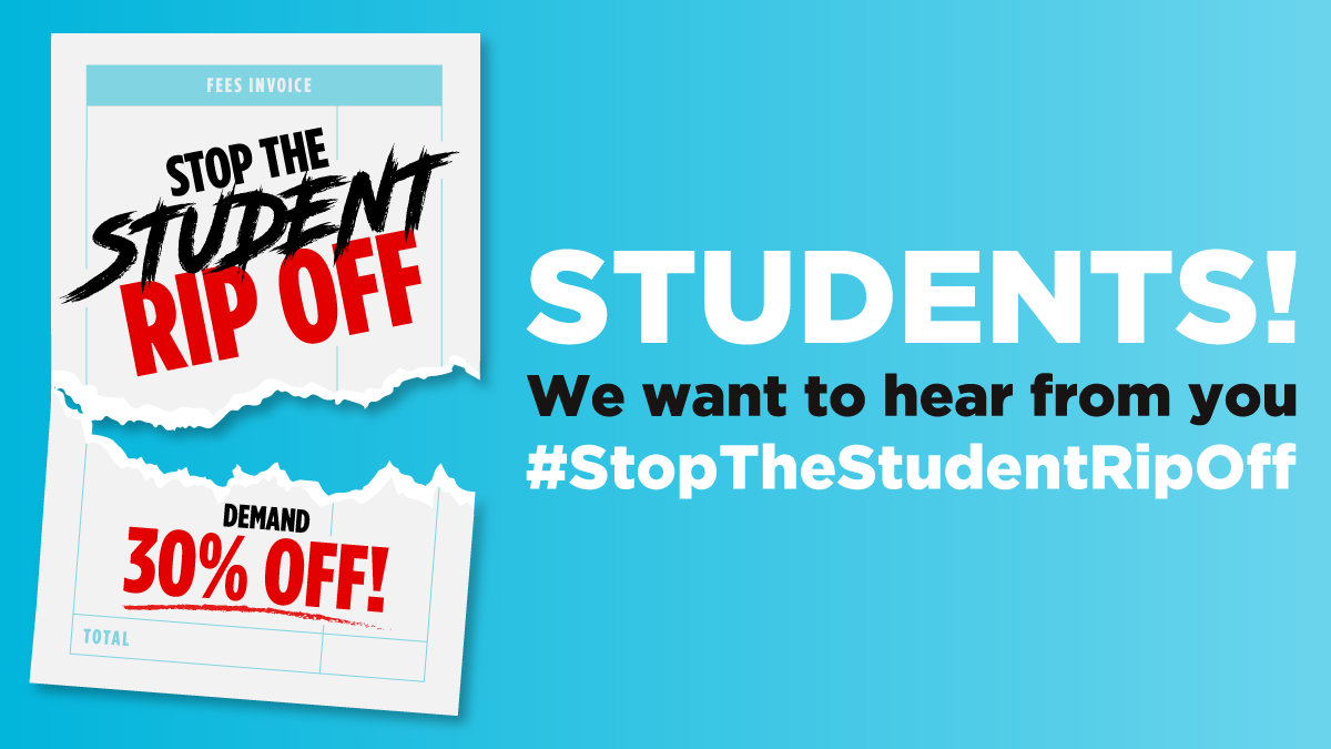 Were launching a new campaign: #StopTheStudentRipOff! Help us demand 30% off fees: 1✍️ Write to your Vice Chancellor, MP or local media 2👍 Pledge your support at reformparty.uk/students 3📹 Record a short video Find out more at reformparty.uk/students Follow @StudentRipOff