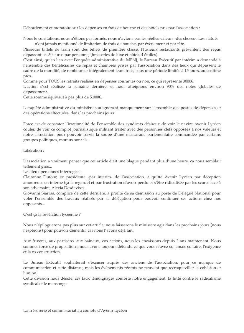Avenir lycéen : un syndicat choyé par Blanquer (Médiapart) - Page 5 Ena7jhKXMAIoUR1?format=jpg&name=medium