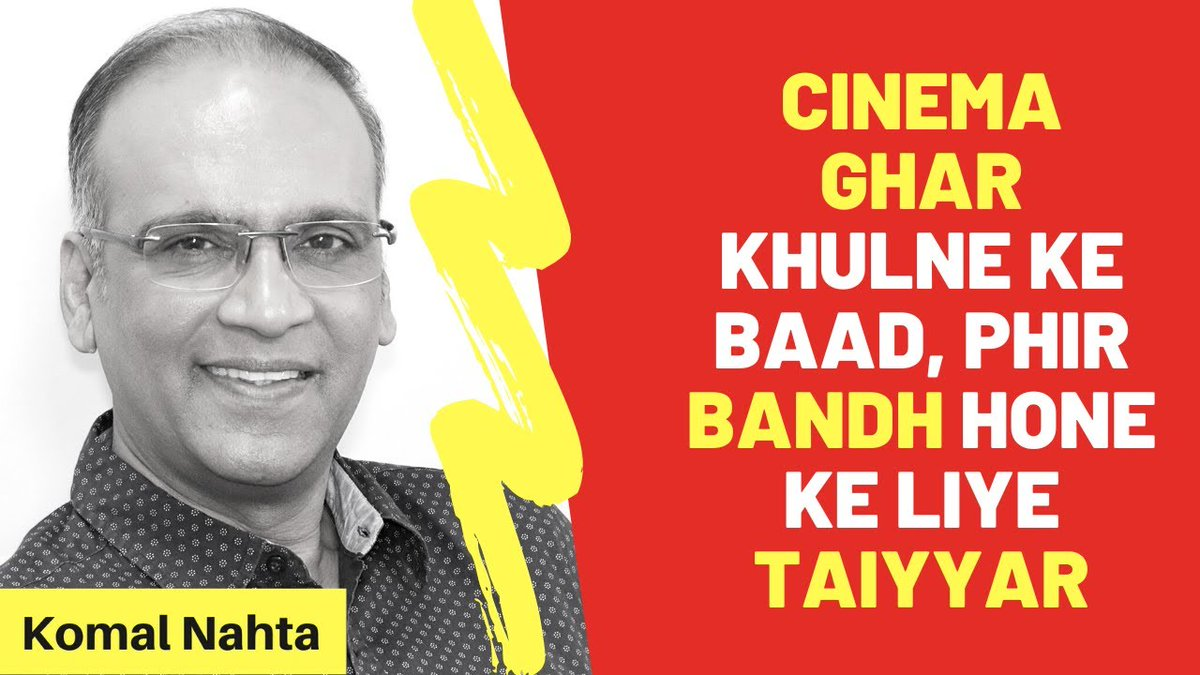 Just a little more than a month after reopening their cinemas,owners are already contemplating closure once again.That is,if they've not already shut down temporarily. Click to know the pathetic state of cinemas in India & why they are in that state! 📽️🔗👉