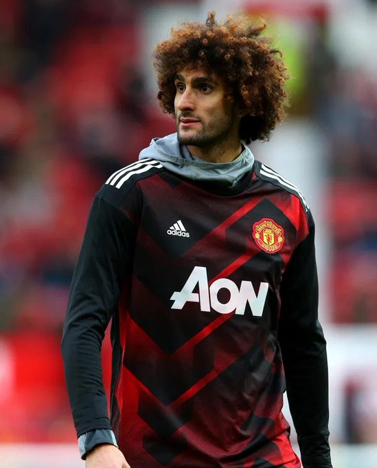 Happy 33rd Birthday to ex red Marouane Fellaini.