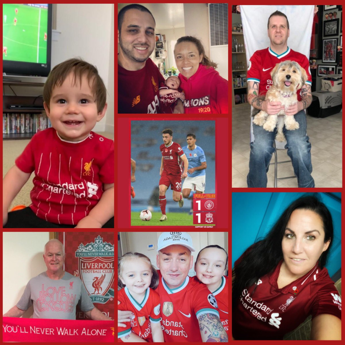 MatchDay8-Man City v @LFC  We'll take the point from a tough match tonight. We go again after the international break💪🏾🔴#YNWA #MCILIV @GWijnaldum #LFC #TheRedWay #StandRed #LFCFamily #weareliverpool #thismeansmore #LiverpoolFC #livergirls #LoveLFC #socalkopites #OLSC #OLSCFamily