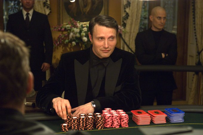 Happy 55th birthday Mads Mikkelsen! I hope our little game isn t causing you to perspire?