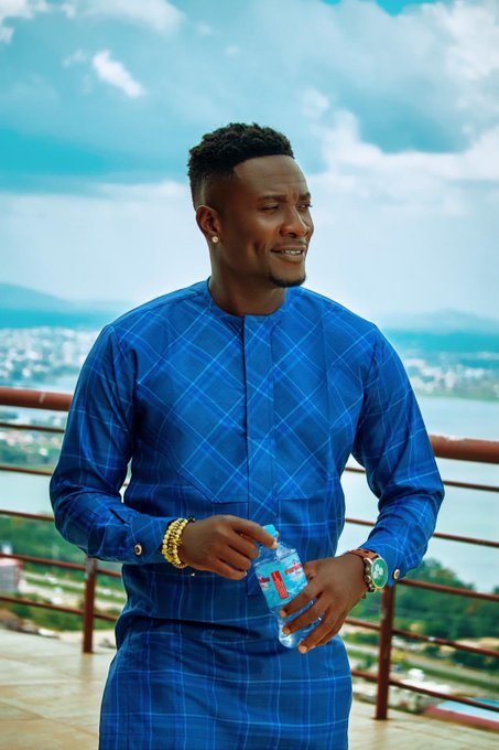 Asamoah Gyan is plus today. HAPPY BIRTHDAY