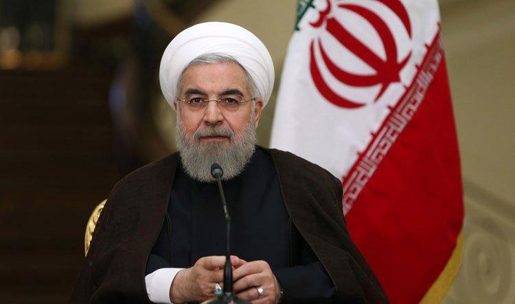 روحاني لعون: صمود الشعب بوجود القادة الأذكياء جعل لبنان فخوراً   #حسن_روحاني #ميشال_عون