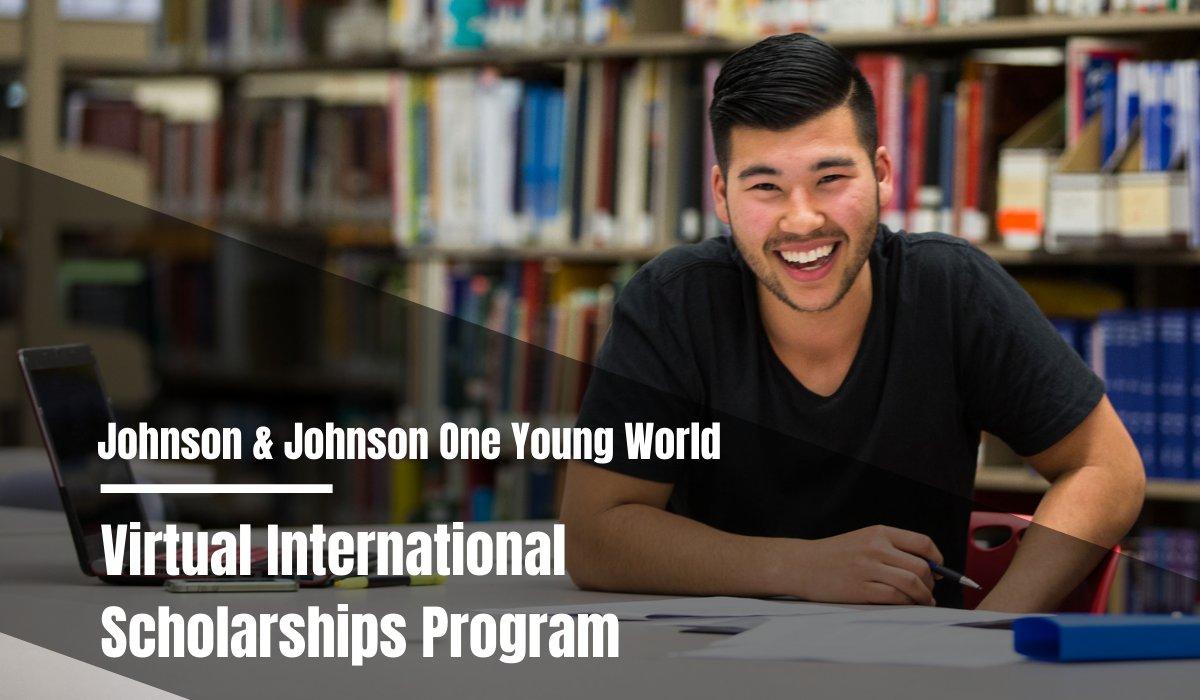 Johnson & Johnson One Young World Virtual international awards Program 2021 https://t.co/C1ZWnIpDZr https://t.co/OlEqO0sOHz