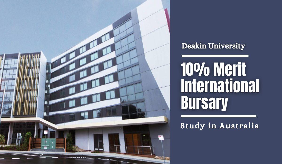 Deakin International Merit Bursary in Australia, 2021   https://t.co/np7W7DbJhO https://t.co/XzxY60mQVY
