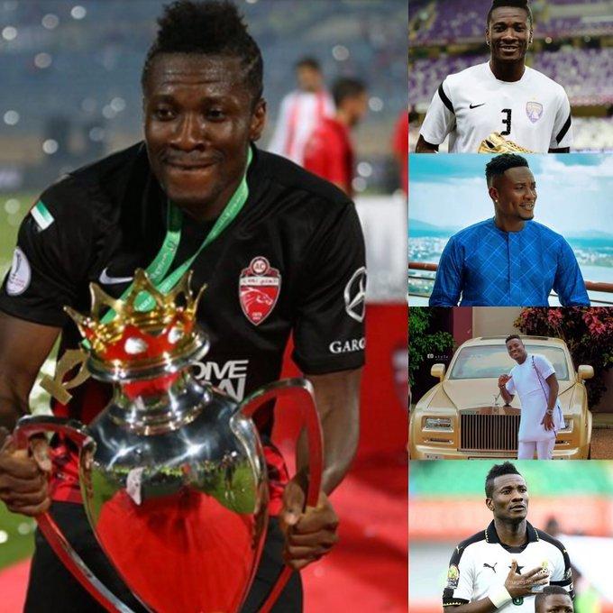 Happy birthday Ghana  best player of the century... Asamoah Gyan Ghana  Blackstar