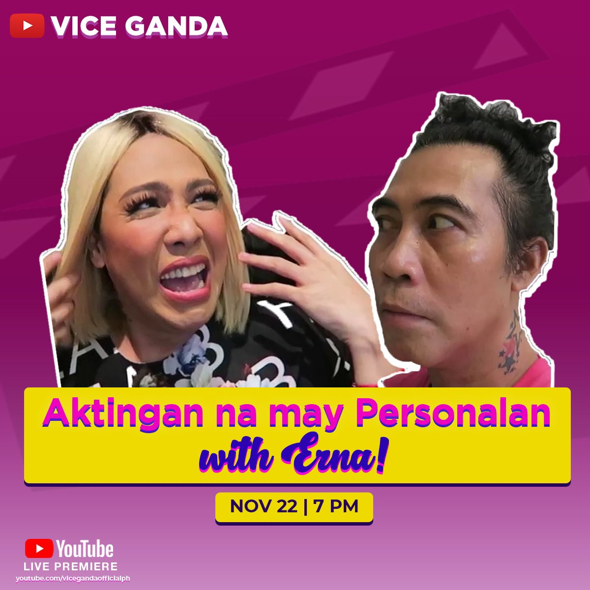 Akting-aktingan na nauwi sa personalan?! 😱 New vlog chunyt at 7PM sa Vice Ganda Youtube Channel!