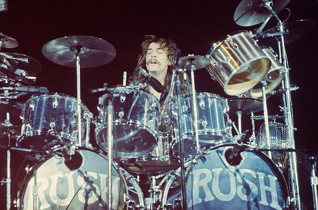 Neil Peart's Rush Drum Kit From 1974 to 1977 Hitting the Auction Block Photo