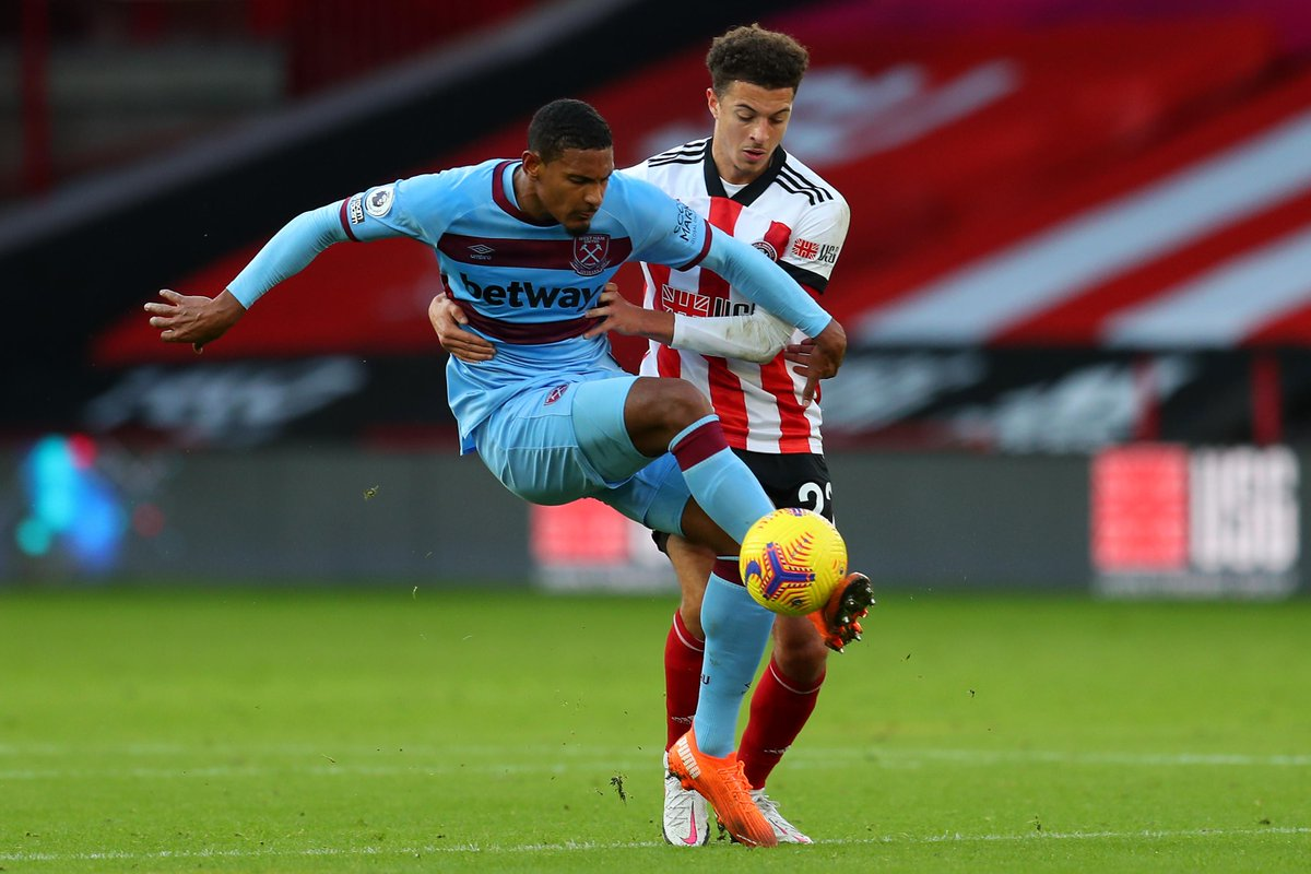 HALF-TIME Sheff Utd 0-0 West Ham  Neither team have managed to find the breakthrough in the opening 45 minutes  #SHUWHU