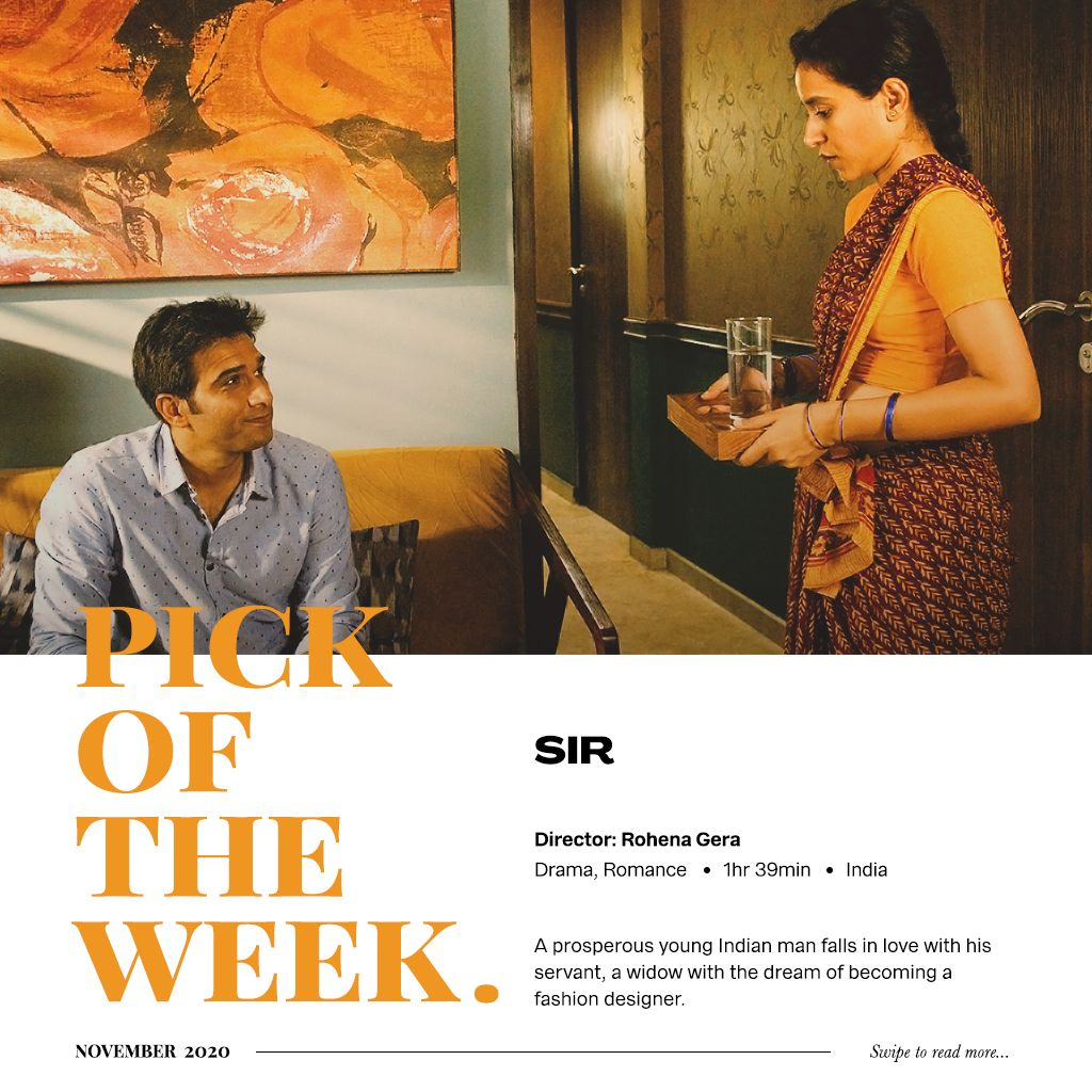 8 months later a #pickoftheweek watched on the big screen! Nikita reviews the delicate Cannes winning indie #sirthefilm. Screening in cinemas all this week.   #POTW @RohenaGera @PlatoonOneFilms @ShiladityaBora @TillotamaShome #MovieRecommendation #MovieReview
