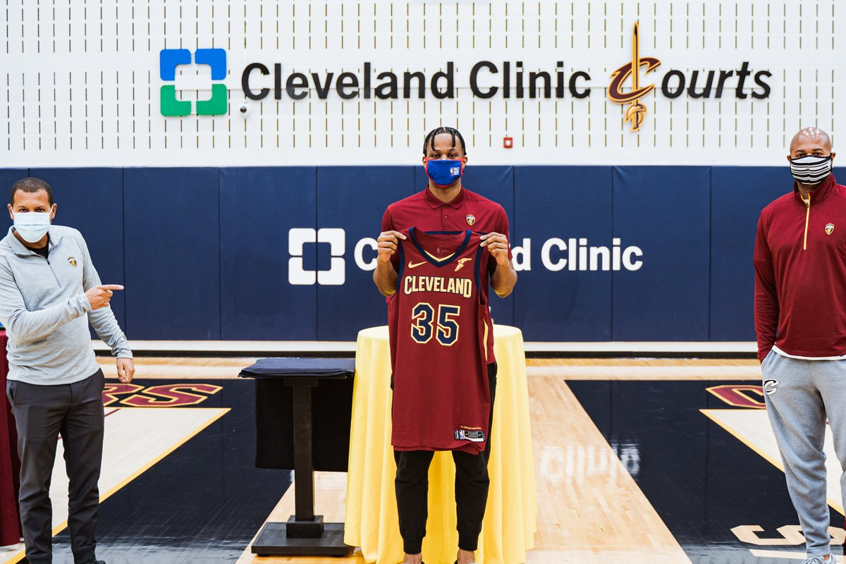 Recap @isaacokoro303's first day at @ClevelandClinic Courts as he gets introduced to media during Friday's virtual press conference!  WATCH: https://t.co/kcgIkrsued https://t.co/pjuCxfOpTc
