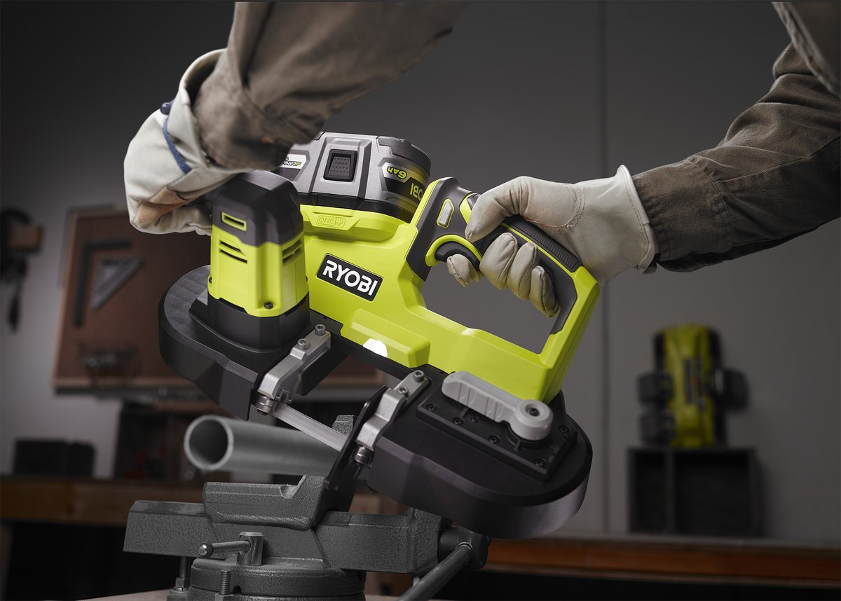 The ONE+ tool you've all been waiting for....the 18V ONE+ Bandsaw!