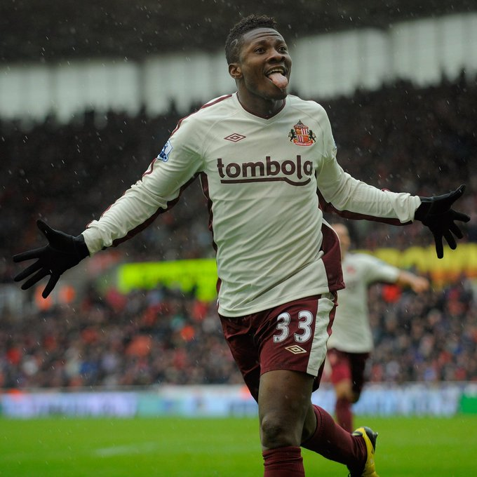 Happy Birthday to one of my favorite African strikers  Asamoah Gyan