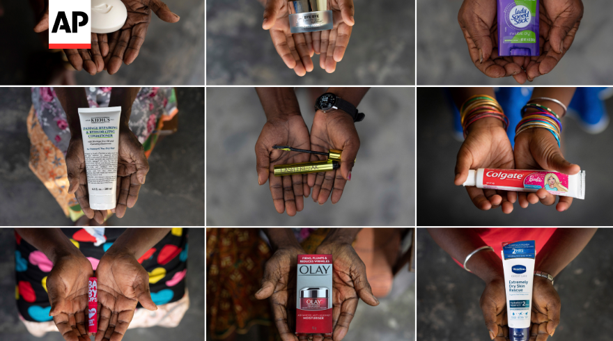 """Please pay attention to our lives.""   @AP spoke to dozens of women on palm oil plantations who describe rapes, harassment and punishing physical effects of their brutal work, which feeds into top Western beauty brands.   Read more:"