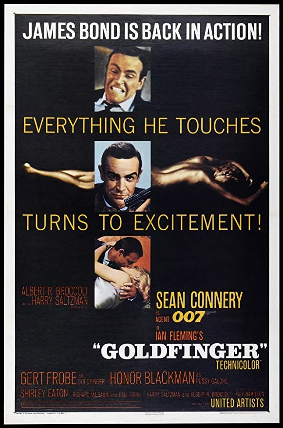 #NowWatching #Goldfinger  My favorite #JamesBond Movie.