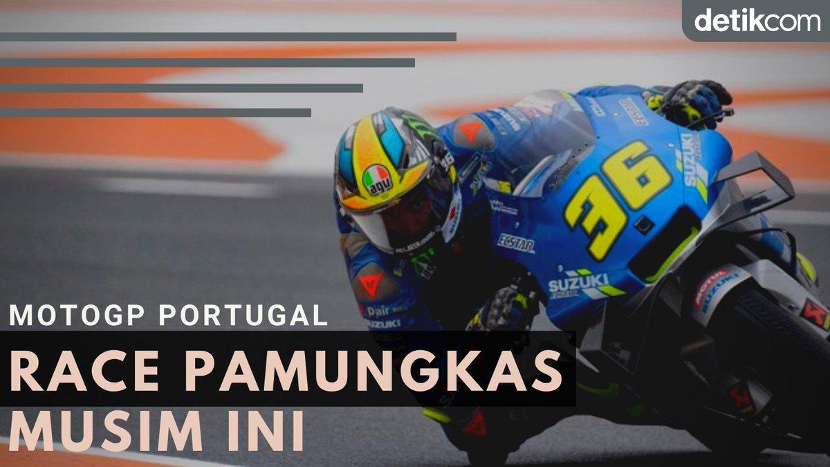 #THREAD   #MotoGP Portugal 2020 dipastikan akan tetap berlangsung sengit. Sebab, bakal ada beberapa pebalap mengincar kursi runner-up musim ini. Kira-kira bagaimana keseruannya?  Simak beritanya di sini! 👇👇
