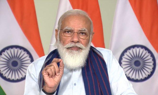 @narendramodi आज सबका साथ, सबका विकास, सबका विश्वास ये मंत्र देश के हर हिस्से में देश के हर नागरिक के विश्वास का मंत्र बन गया है।  आज देश के हर जन, हर क्षेत्र को लग रहा है कि उस तक सरकार पहुंच रही है और वो भी देश के विकास में भागीदार है।  #JalShakti4UP