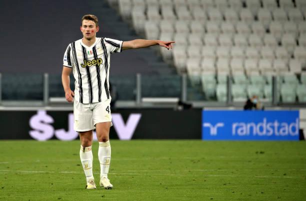 Matthijs De Ligt 🇳🇱 after Juventus vs Cagliari: