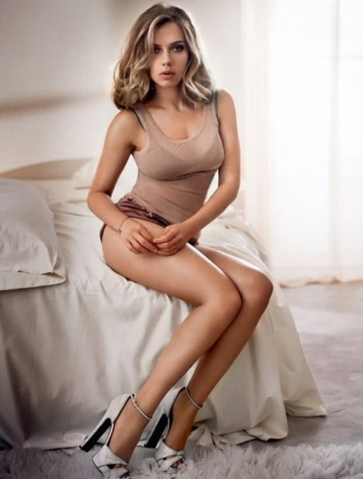 Happy 36th birthday to the hottest woman in Hollywood, Scarlett Johansson!