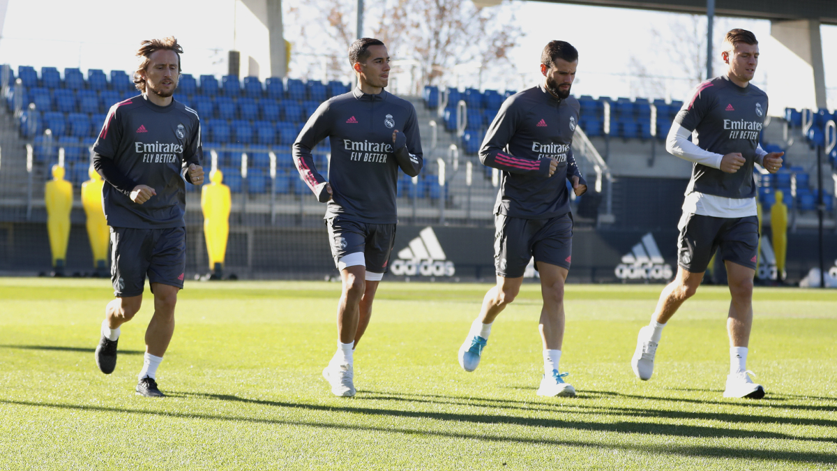 Replying to @realmadriden: ⚡️👊 Getting ready to face @Inter_en! #RMCity | #HalaMadrid