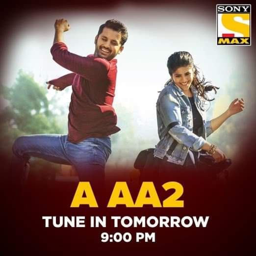Kya Mohan kar payega Megha ko impress? To find out, watch 'A AA2', tomorrow at 9 PM, only on Sony MAX. #AAA2OnSonyMAX