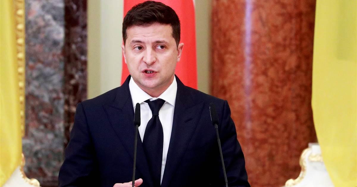 Ukraine sours on President Volodymyr Zelenskiy as challenges mount for former comedian Photo