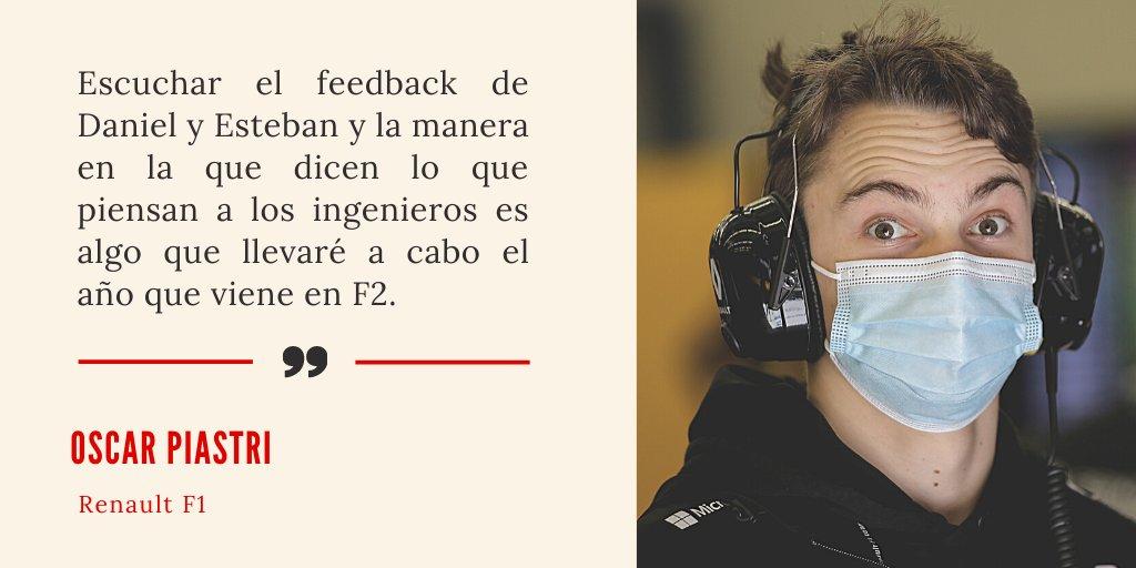 #F1 | Oscar Piastri estuvo presente en Turquía trabajando con #Renault. Dio su opinión tras la experiencia.  💻 Más detalles por Pablo Martín https://t.co/hVG33XezcP https://t.co/nWjQpOGX6i