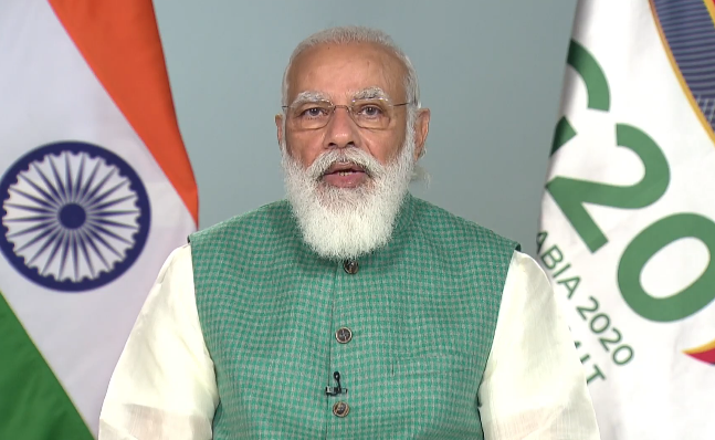 The entire world can progress faster if there is a greater support of technology and finance to the developing world. For humanity to prosper, every single individual must prosper: PM @narendramodi